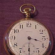 Excellent Waltham Crescent St 21 Jewel 1892 OF Pocket Watch