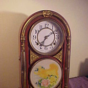 Ornate Antique Japanese 8-Day Clock -All Original & Nice Chime