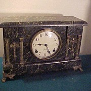 1880's Sessions French Style Mantel Clock-Rare Colors&Runs Great