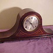SOLD Nice Double Bar Chime Sessions Humpback  8-Day Mantel Clock