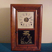 Nice Seth Thomas Small Ogee Style 8-Day Clock w/Chime&Alarm