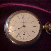 Unusual MW Co/ Superior W Co 18 Sz 15 Jewel Pocket Watch