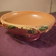 Roseville Snowberry Bowl IFB 10 Circa 1947 in Excellent Condition