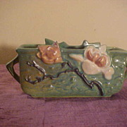 Excellent Condition Roseville Magnolia Planter model # 388-6