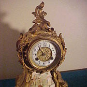 Very Nice Waterbury Gold Guild Mantle Clock