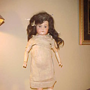 "Antique Armand Marseille 26"" AM1890 Doll - Needs Leg&Bit TLC"
