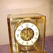 Excellent Vintage LeCoultre Atmos Clocks - Guaranteed Runner