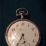 Hamilton 992 OF 16 Size/21Jewel Railroad Grade Pocket Watch