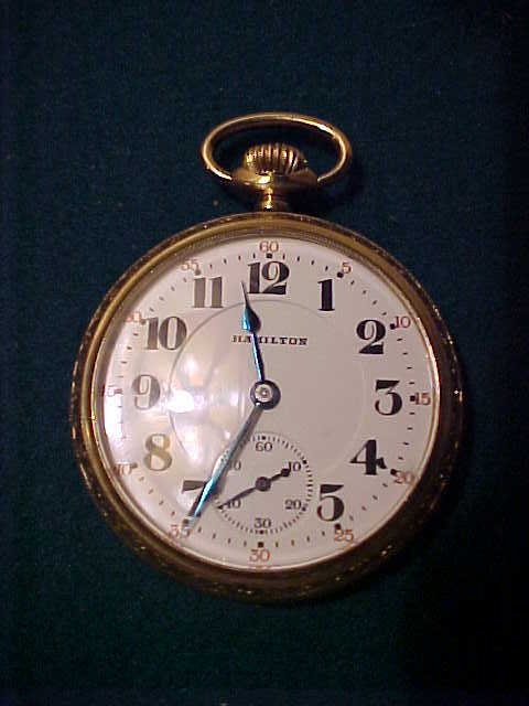 Another Nice Hamilton 992 16 Sz/21J Open Face Pocket Watch