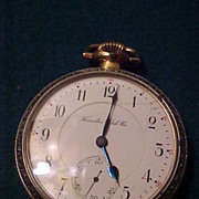 Nice Hamilton 992 16 Sz/21J Open Face 2 Tone Railroad Pocket Watch