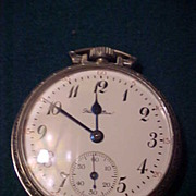 Nice Hamilton 21 Jewel 992 16 sz Railroad grade Pocket Watch