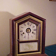 Nice Antique Seth Thomas Chiming Mantel Clock- Excellent Case