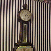 Excellent Antique New Haven War 0f 1812 Maritime 41&quot; Banjo Clock