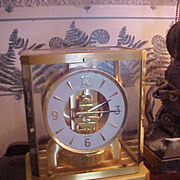 Excellent Vintage Le Coultre Atmos Clock-Runs Great