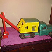 "Nice 1950's Structo Pressed Steel 27"" Plus Shovel Truck"
