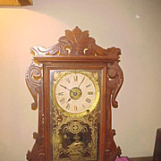 Nice Seth Thomas City Series &quot;Newark&quot; 8 Day Chiming Mantel Clock