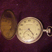 Nice Burlington 21 Jewel Hunter Case 14 Sz Pocket Watch