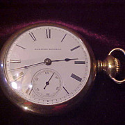 Decent Early Hampden 16 Size OF Pocket Watch