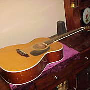 Decent Vintage Kent Acoustic Guitar - Straight, Complete &  Playable