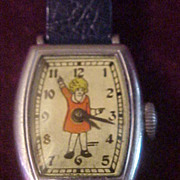 Excellent Running Little Orphan Annie 1935 Harold Gray Wrist Watch