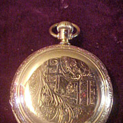 Excellent Hamilton 17Jewel/16 Size Hunter Case Pocket Watch