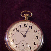 Hamilton 940 18 Sz/ 21J Railroad Grade Open Face Pocket Watch