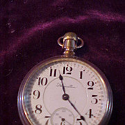 Hamilton 18Sz/21J 940 Railroad Grade Open Face Pocket Watch