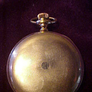 American Waltham 16 Sz/15J Hunter Case Pocket Watch-Runs Great