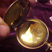 Excellent Rockford 17J/16Sz Hunter Case Pocket Watch-Runs Great