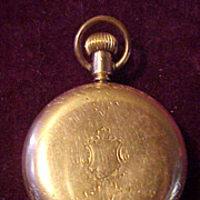 SOLD Nice Hunter Case 16 Sz/15J Elgin Pocket Watch-Clean & Runs Great