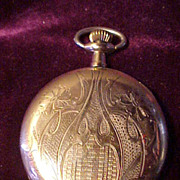 Elgin 12 Sz/17J Hunter Case Pocket Watch - Runs& Looks Great