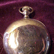 SOLD Elgin 18Sz/15J 14Kt GF Hunter Case 1888 Pocket Watch