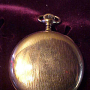 Nice 12Sz/15J Illinois Hunter Case Pocket Watch-Runs&Looks Great