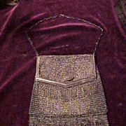 Excellent Early 1900's Ladies Mesh Purse-Condition Looks Perfect