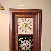 SOLD Nice Looking Atkins & Porter Co Ogee Style Clock-Runs Great