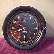 Excellent Seth Thomas US Navy Bakelite Case Ships Clock
