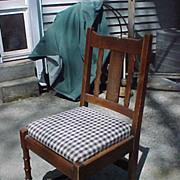 Nice Signed Stickley Arts and Crafts/Mission Side Chair