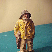 Early Smaller Size Fisherman Doorstop