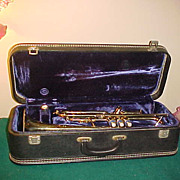 Nice Vintage York Senator Trumpet w/Case & Great Condition