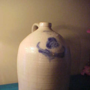 L Seymour Troy 3 Gallon Stoneware Jug- Great Condition