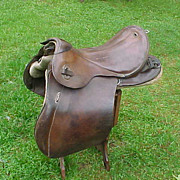 Very Good Condition WWII 1942  German Calvary Saddle