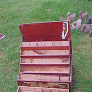 Neat General Store Lyman's Seed Display Box- Needs Labels