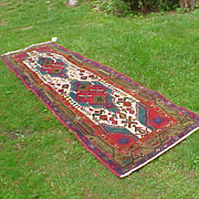 "Nice Persian Lilihan 2'6"" x 9' Runner- Low Wear & Thick"