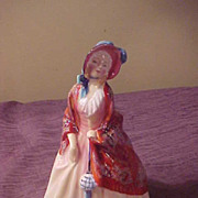 "Excellent Royal Doulton HN 1988 Paisley Shawl 6 1/2"" Figurine"