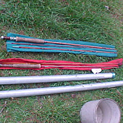 Two Excellent But Need TLC & Parts Split Bamboo Fly Rods