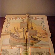 1909 Hudson River &NYC Color Newsprint Special Editions