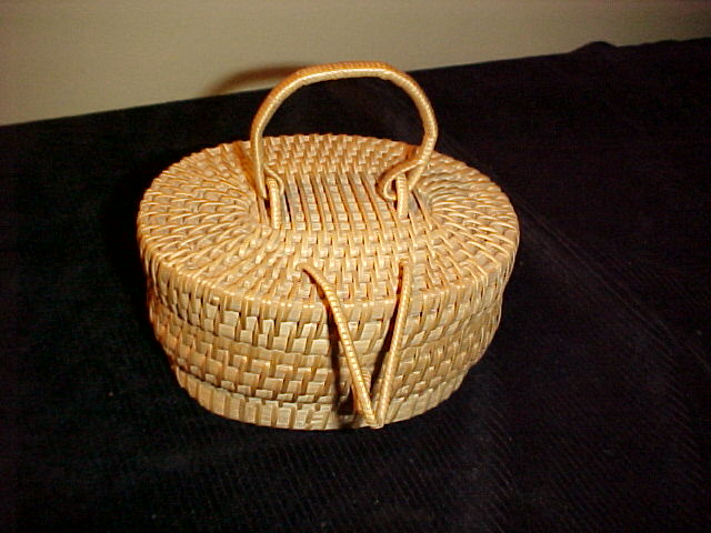 Cute Little Singapore Malay Basket- Perfect Condition