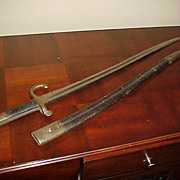 Excellent WWI German Imperial Bayonet Sword w/Scabbard