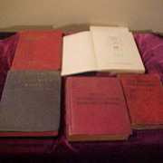 5 Nice Early Railroad Technician Manuals-Electrical&Locomotive