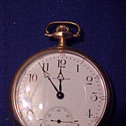 SOLD Nice 16 Size/17 Jewel  Waltham Open Face Pocket Watch